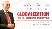 Globalization; facing, adapting and driving