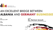 An Excellent Bridge Between Albania and Germany Businesses