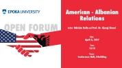 American - Albanian Relations