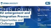 EU enlargement and Integration Process: Opportunities and Challenges (Zgjerimi dhe Integrimi ne Bashkimin Europian: Mundesite dhe Sfidat)