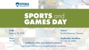 Sports and Games Day