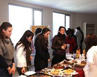 Traditional Food Fair; Epoka University staff and students collect funds for the orphan children