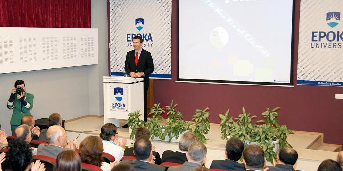 Epoka University officially opened the New Academic Year 2013-2014