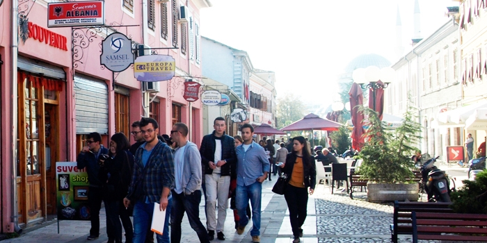 Site atmosphere: Trip to Shkodra and final reviews of Arch 201 course, at the Architecture Department