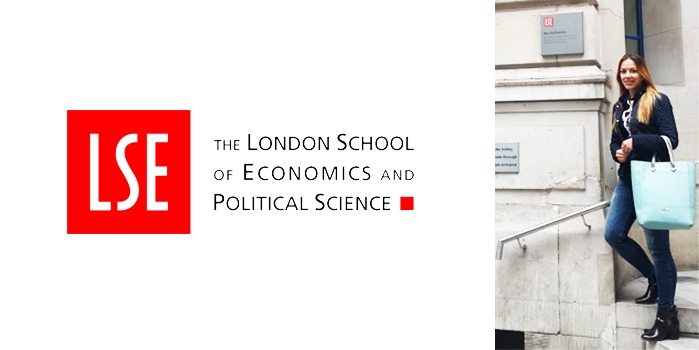 First impressions at the London School of Economics - Former Epoka student Elena Pici