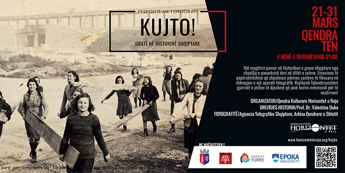 "Exhibition ""REMEMBER"": Women through the Albanian History"