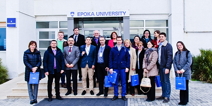 The second meeting of The Erasmus+ project K-FORCE, took place on 23-24 February 2017 in Tirana, Albania.