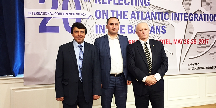 Assoc. Prof. Dr. Salih Ozcan invited by the Atlantic Council of Albania at the international conference 'Reflecting on the Atlantic Integrations in the Balkans'
