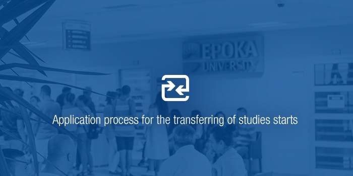 Application process for the transferring of studies starts