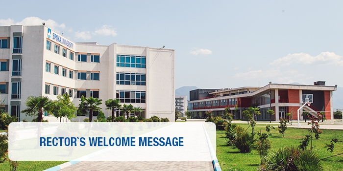 Rector`s Welcome Message